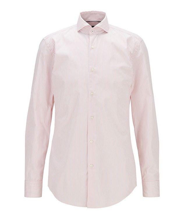 Slim-Fit Striped Dress Shirt picture 1
