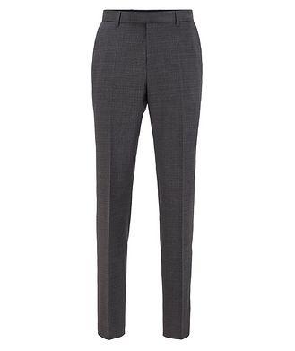 BOSS Pantalon Lenon2 en laine extensible