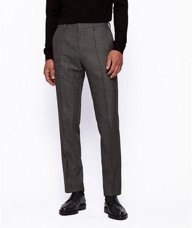 Genius5 Slim-Fit Herringbone Dress Pants picture 2