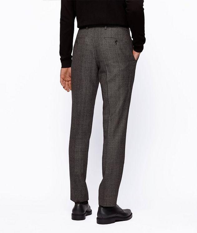 Genius5 Slim-Fit Herringbone Dress Pants picture 3