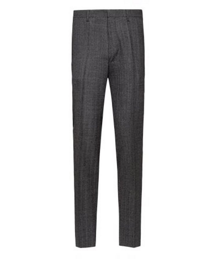 Genius5 Slim-Fit Herringbone Dress Pants image 0