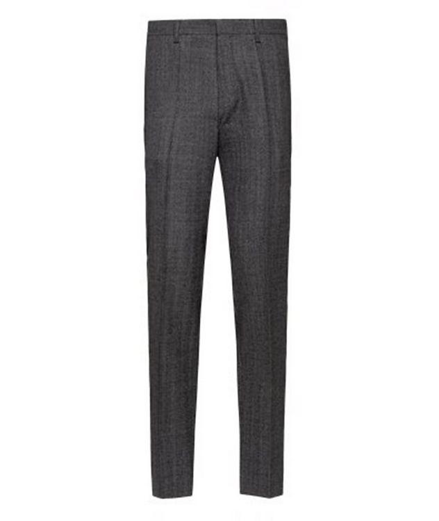 Genius5 Slim-Fit Herringbone Dress Pants picture 1