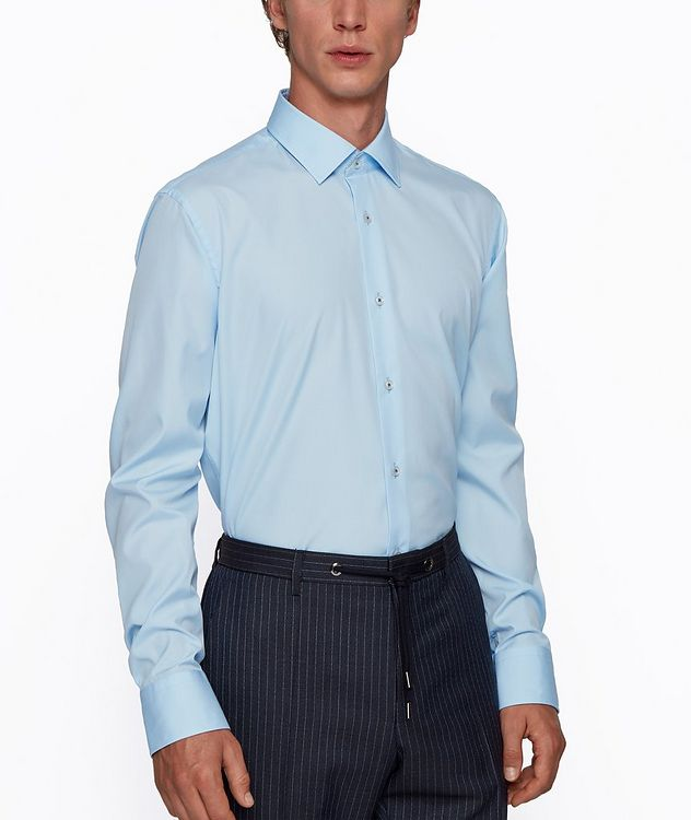 Contemporary-Fit Easy-Iron Dress Shirt picture 2