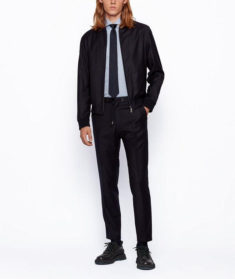 Slim-Fit Two-Tone Dress Shirt image 5