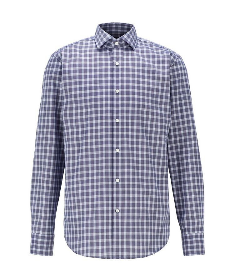 Contemporary-Fit Gingham Dress Shirt image 0