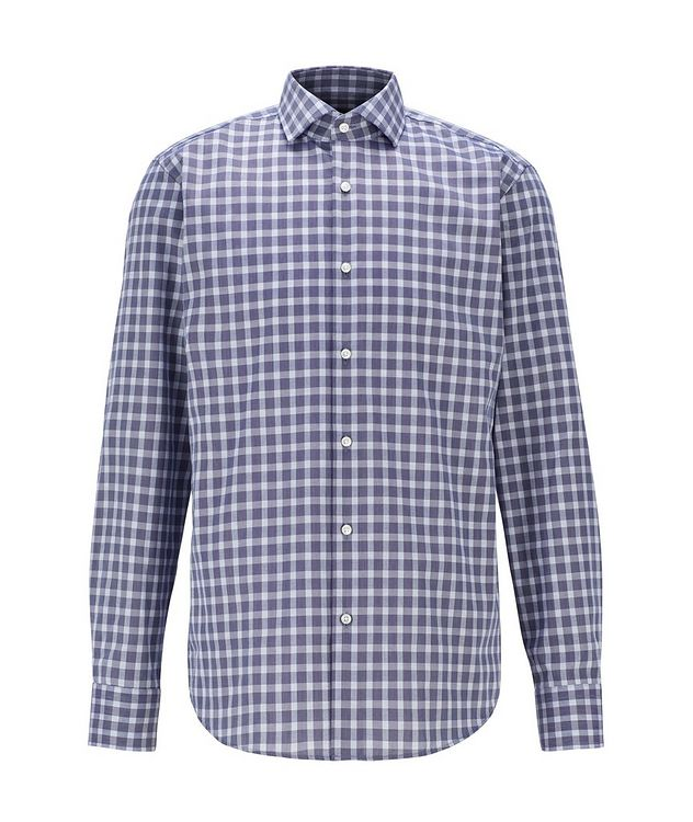 Contemporary-Fit Gingham Dress Shirt picture 1