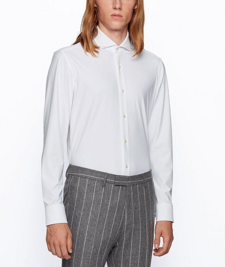 Slim-Fit Performance Dress Shirt  image 1