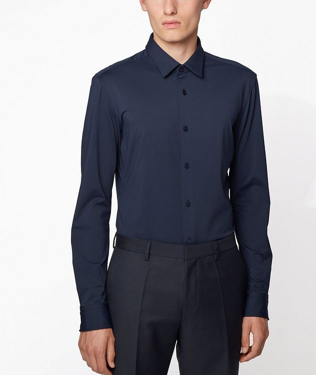Slim-Fit Jersey Shirt picture 2