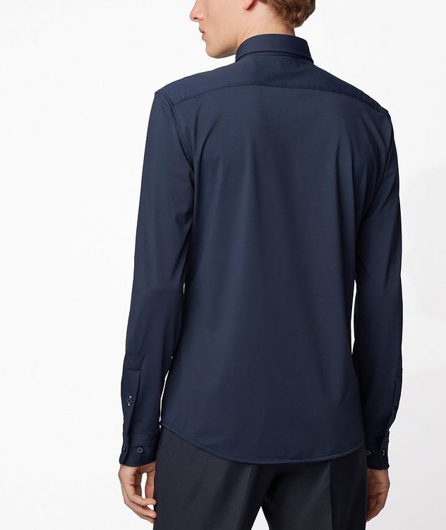 Slim-Fit Jersey Shirt picture 3