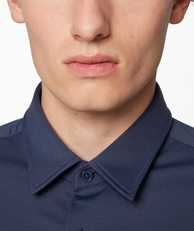 Slim-Fit Jersey Shirt picture 4
