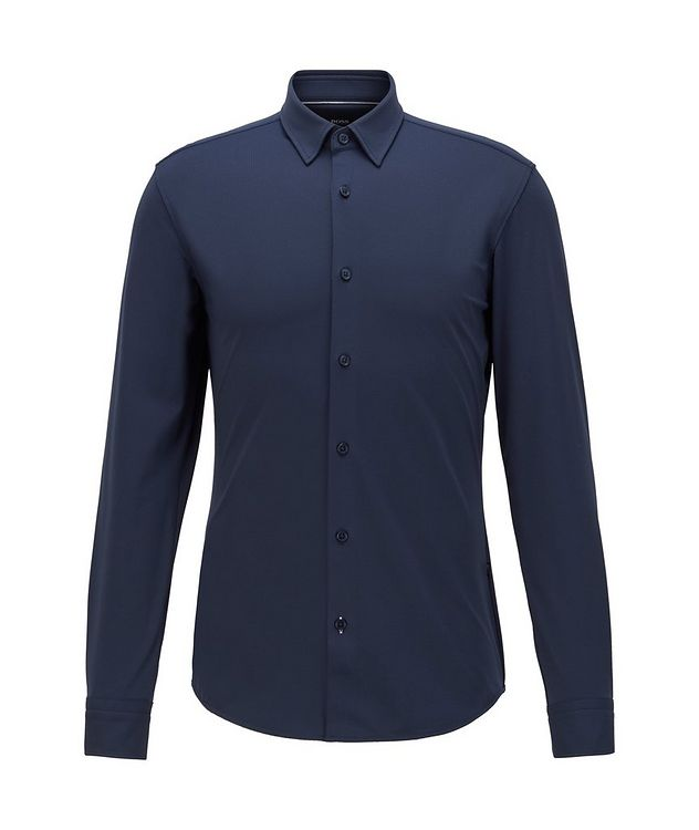 Slim-Fit Jersey Shirt picture 1