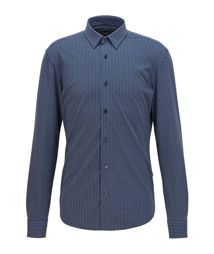 Chemise imprimée en jersey de coupe amincie image 0