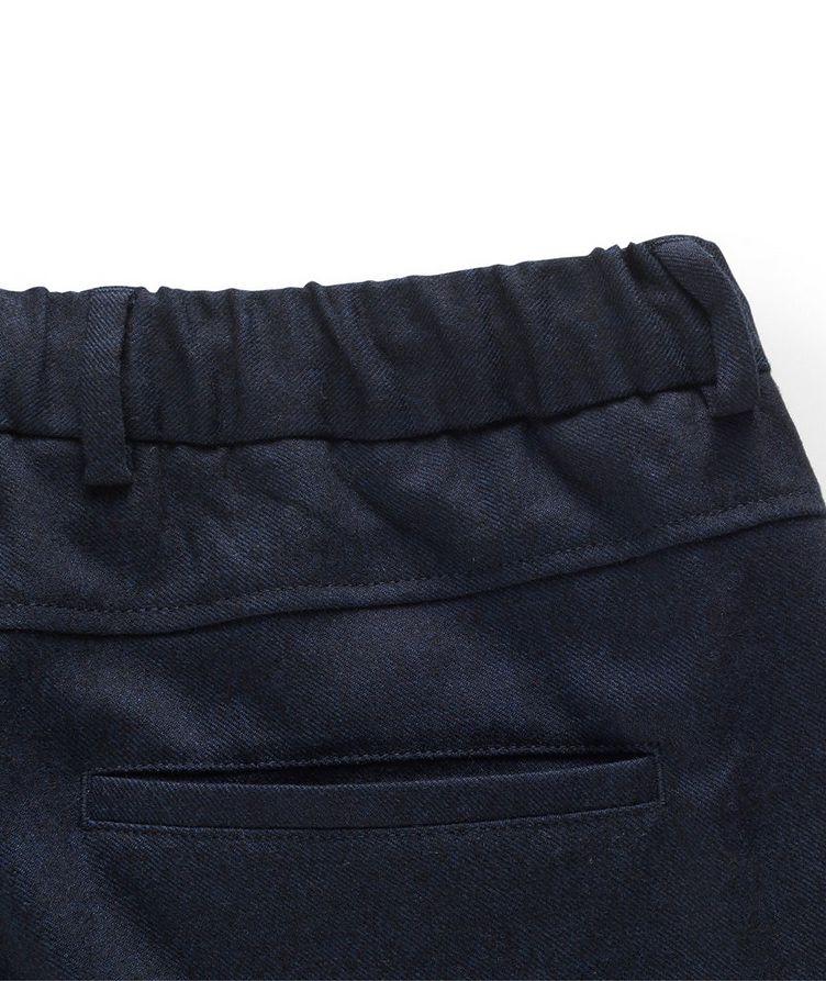 Stretch-Wool Drawstring Pants image 2
