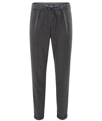 04651/ A TRIP IN A BAG Stretch-Wool Drawstring Pants
