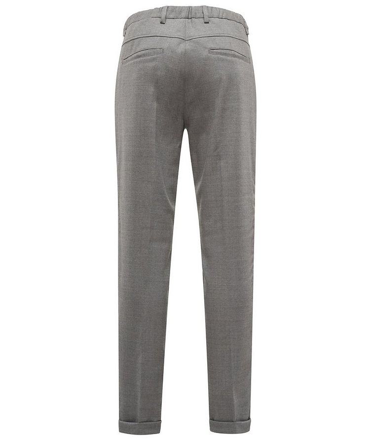 Stretch-Wool Drawstring Pants image 1