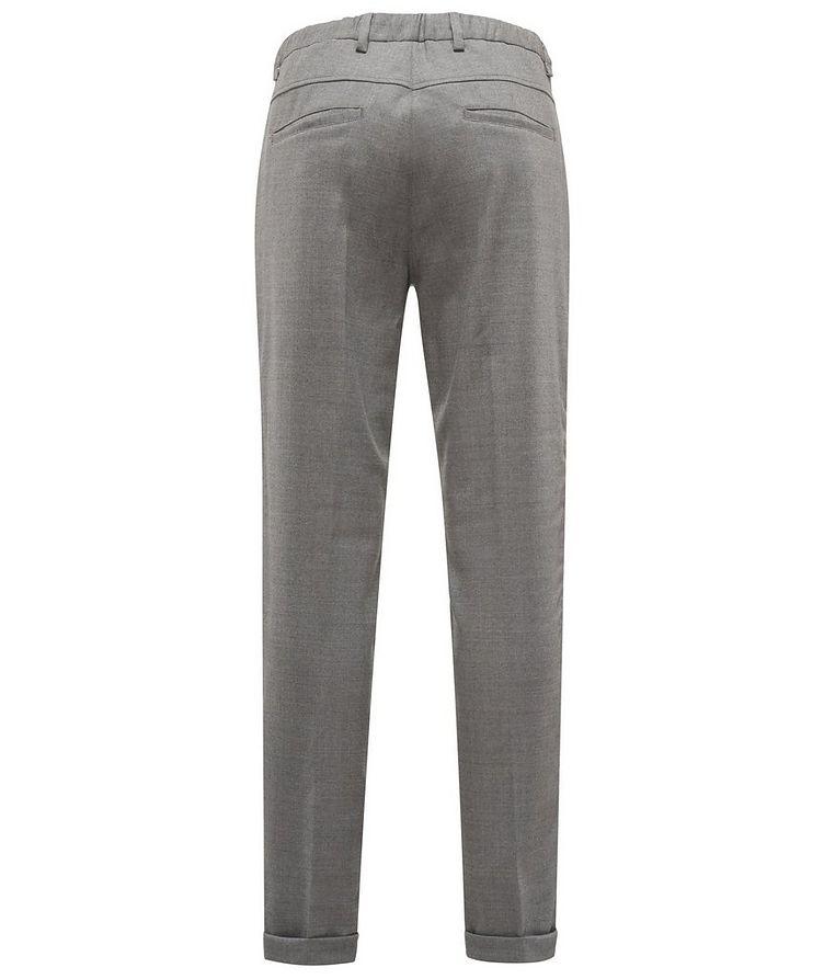 Pantalon en laine extensible à cordon image 1