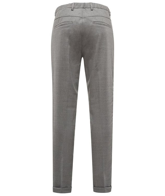 Stretch-Wool Drawstring Pants picture 2