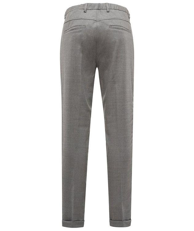 Pantalon en laine extensible à cordon picture 2
