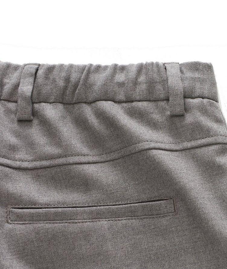 Pantalon en laine extensible à cordon image 2