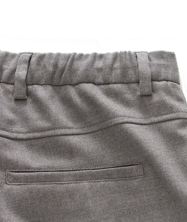 Pantalon en laine extensible à cordon picture 3