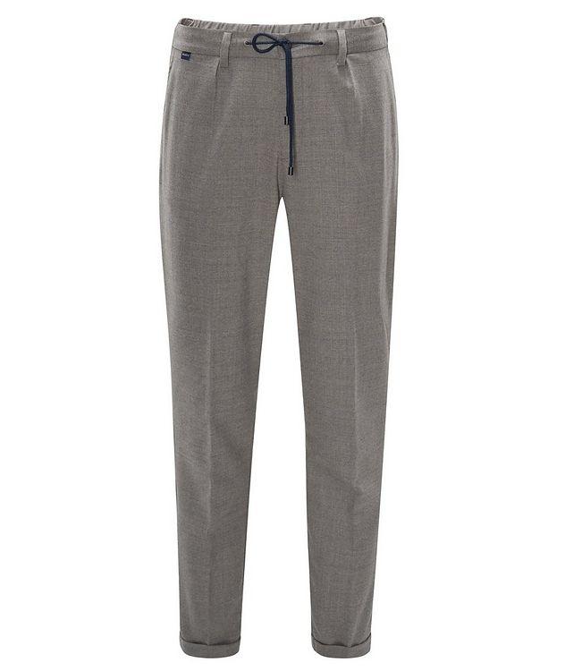 Pantalon en laine extensible à cordon picture 1