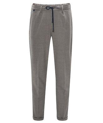 0 4 6 5 1 / A TRIP IN A BAG Stretch-Wool Drawstring Pants