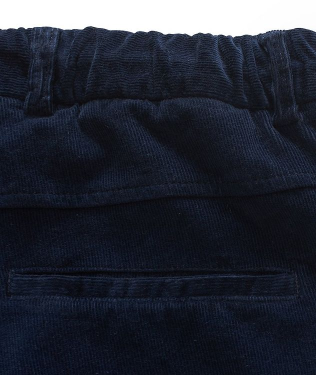 Drawstring Corduroy Pants  picture 4