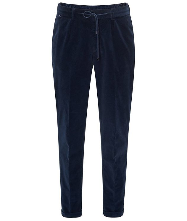 Drawstring Corduroy Pants  picture 1