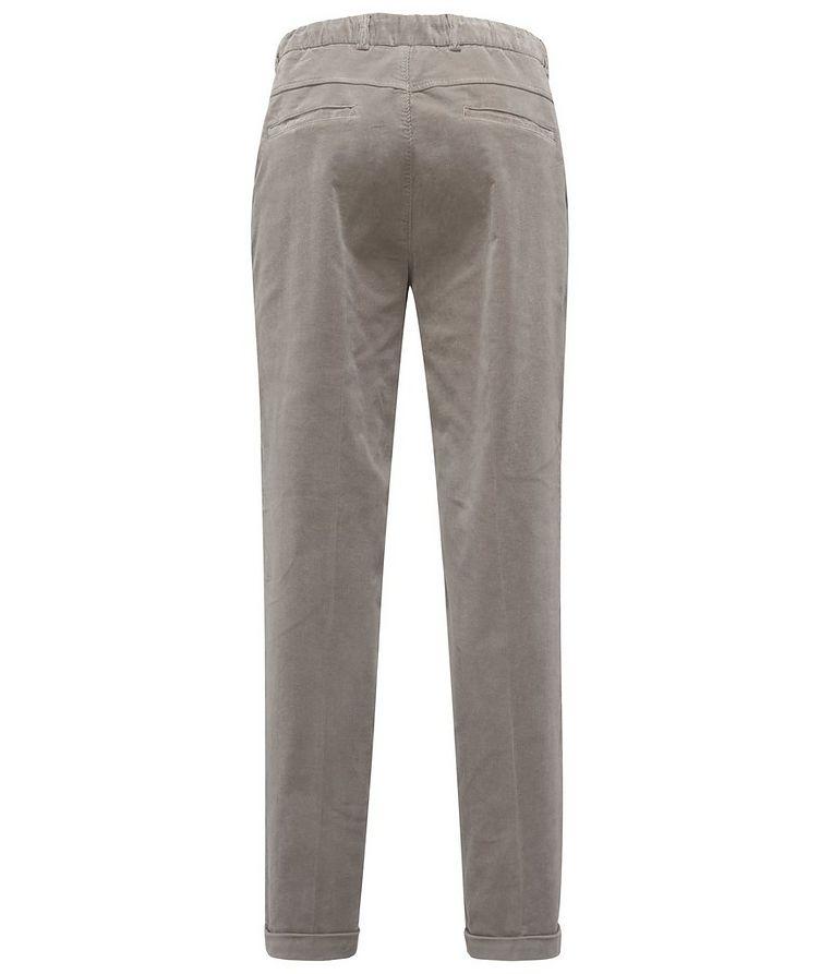 Drawstring Corduroy Pants  image 1