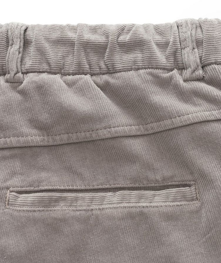 Drawstring Corduroy Pants  image 3