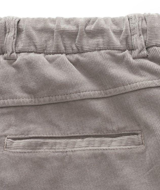 Drawstring Corduroy Pants  picture 4