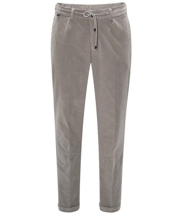 Drawstring Corduroy Pants  image 0