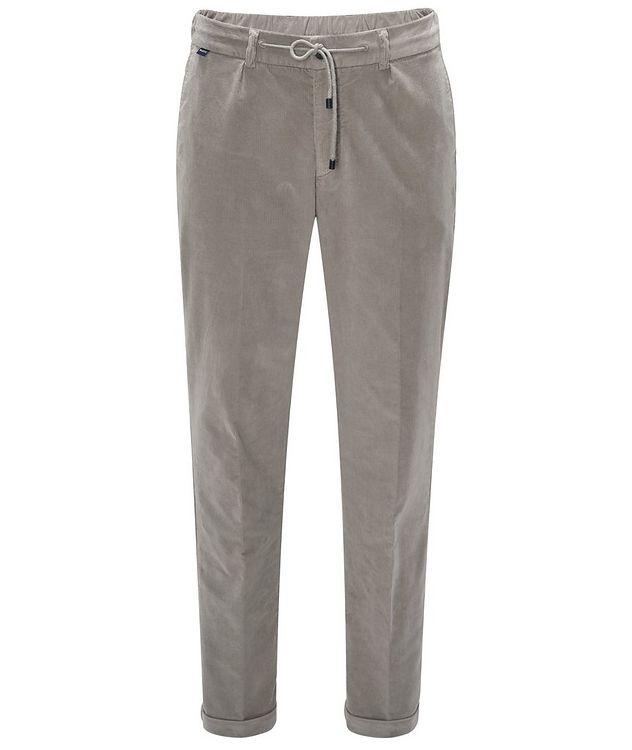 Drawstring Corduroy Pants  picture 1