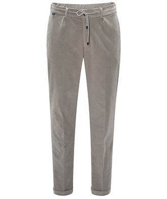 04651/ A TRIP IN A BAG Pantalon en velours côtelé à cordon