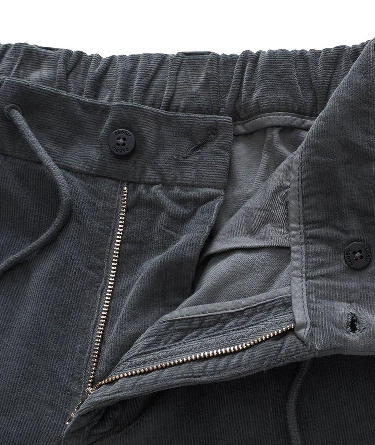 Drawstring Corduroy Pants  image 2