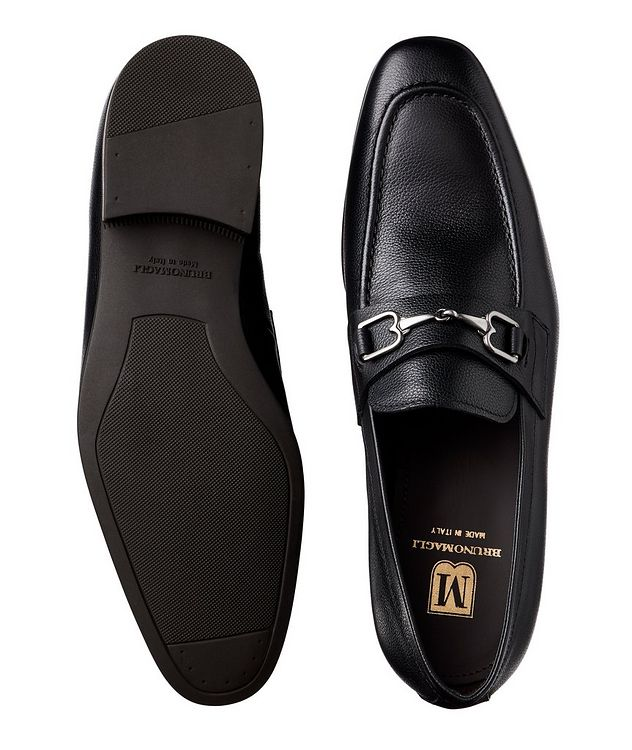 Tumbled Leather Loafers picture 3