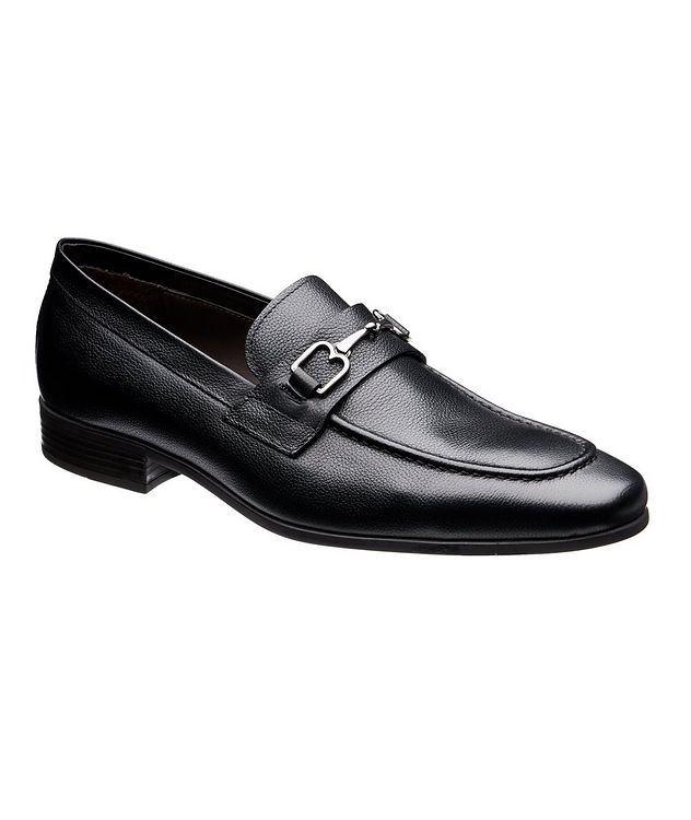 Tumbled Leather Loafers picture 1