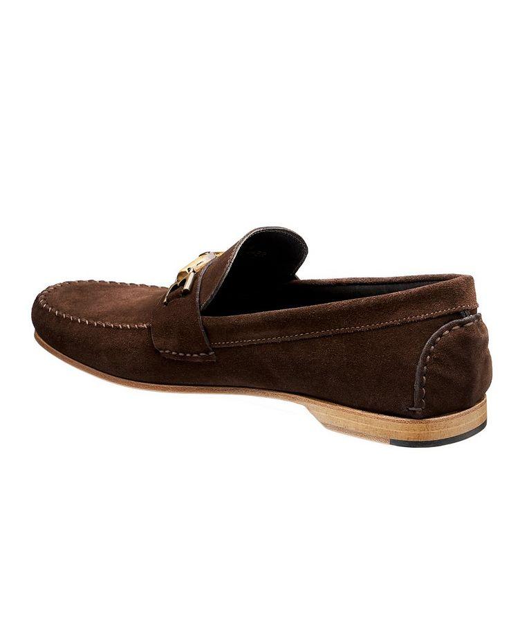 Suede Venetian Loafers image 1