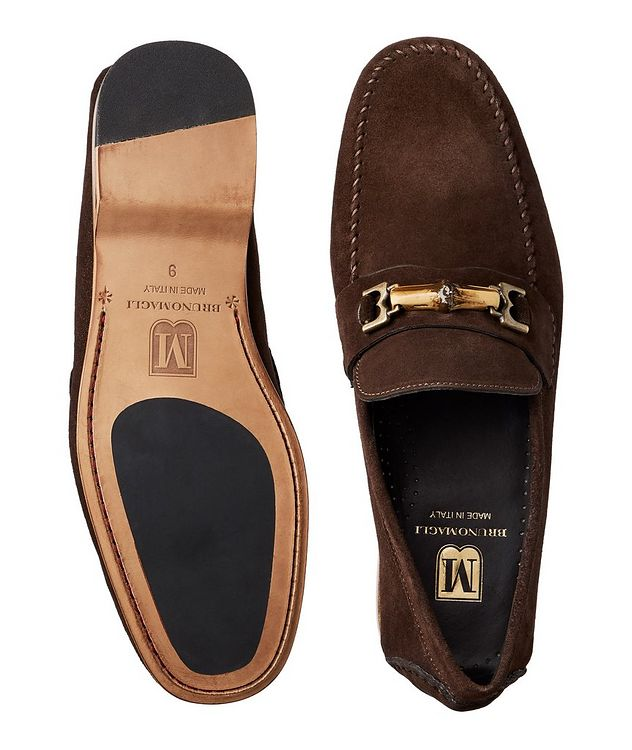 Suede Venetian Loafers picture 3
