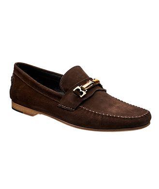 BRUNO MAGLI Suede Venetian Loafers