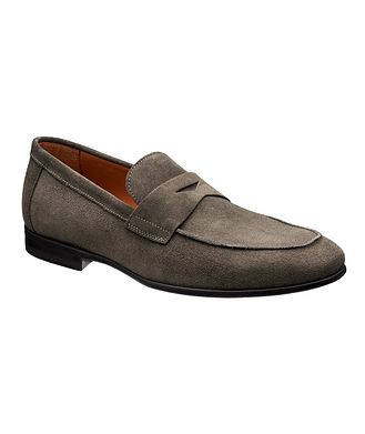 BRUNO MAGLI Suede Loafers