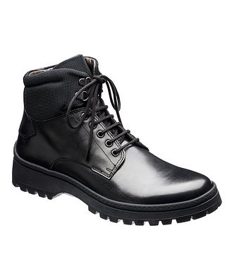 BRUNO MAGLI Leather Lug-Sole Boots
