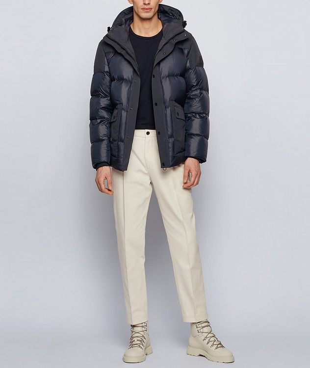 Water-Repellent Down Jacket picture 4