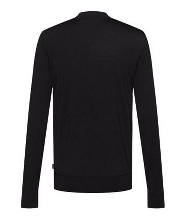 Virgin Wool Mock-Neck Sweater  picture 2