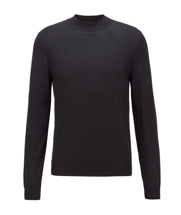 Virgin Wool Mock-Neck Sweater  picture 1