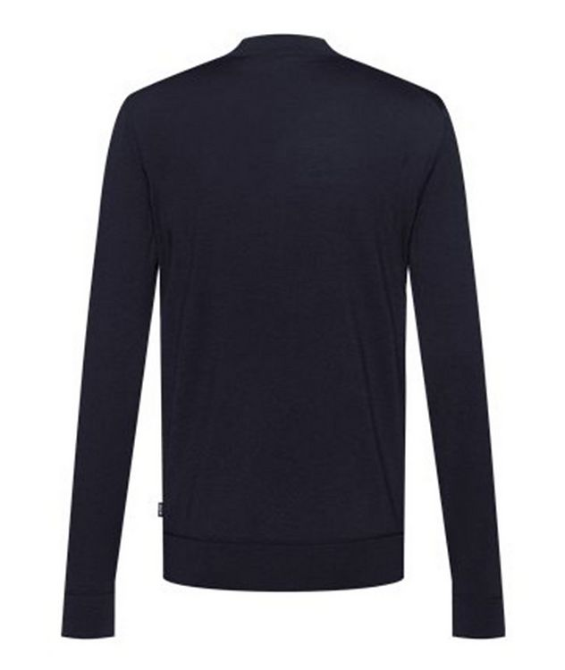 Virgin Wool Mock-Neck Sweater  picture 2