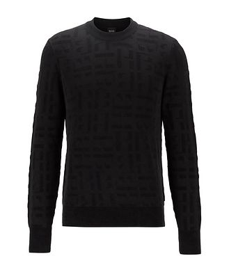 BOSS Knit Monogram Sweater