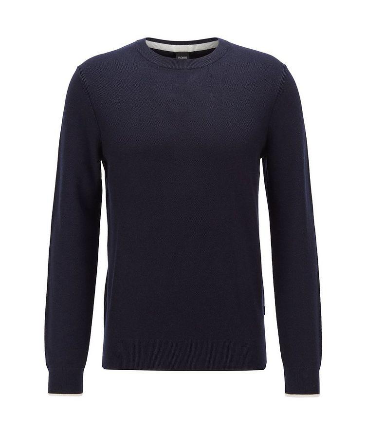 Knit Crewneck Sweater image 0