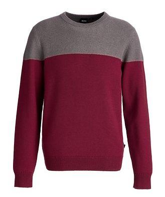 BOSS Brushed Wool Sweater