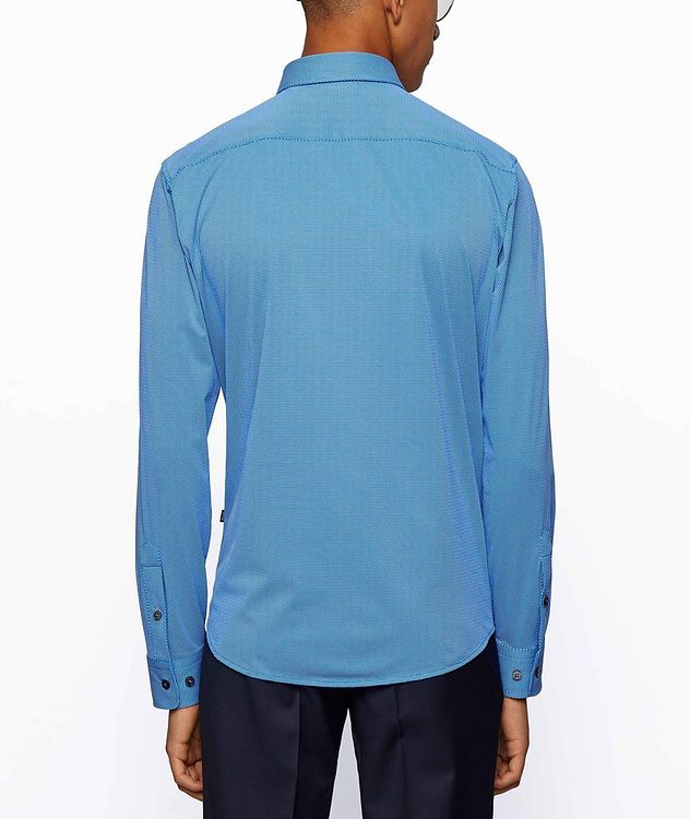 Printed Stretch-Blend Sport Shirt picture 3